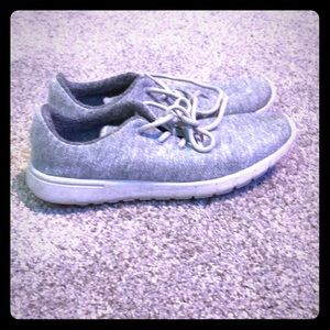 Wool cotton everyday shoes